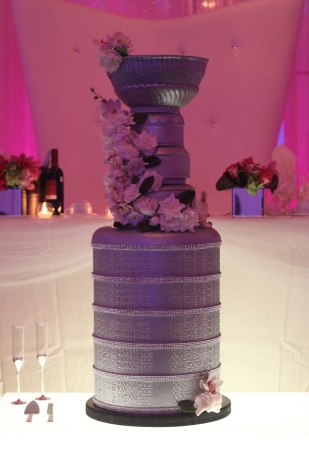 Stanley Cup Wedding Cake